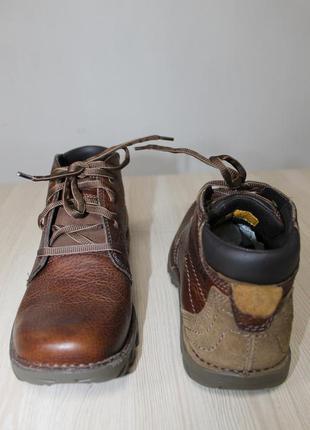 Кожаные ботинки caterpillar cat, 40 размер