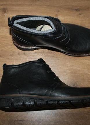 Комфортные ботинки ecco jeremy