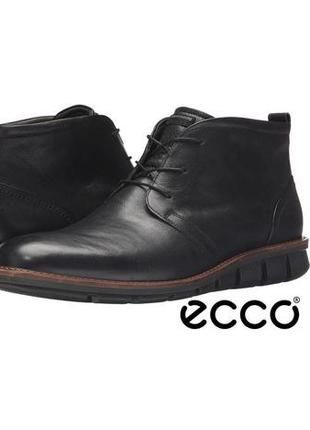 Кожаные ботинки ecco jeremy hybrid, 45 размер 30 см