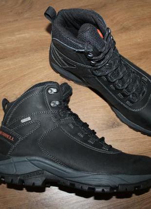Зимние водонепроницаемые ботинки merrell vego mid leather wate...
