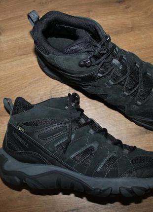Водонепроницаемые ботинки merrell outmost mid ventilator gore-...