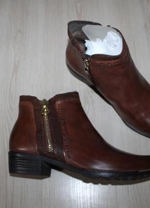 Немецкие кожаные ботинки caprice, 38, 40 размеры