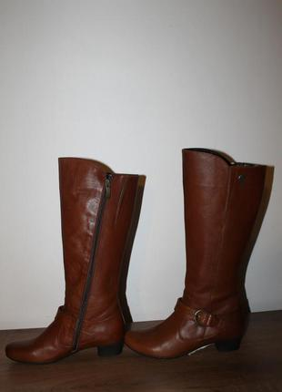 Качественные кожаные сапоги footnotes, 37.5 размер