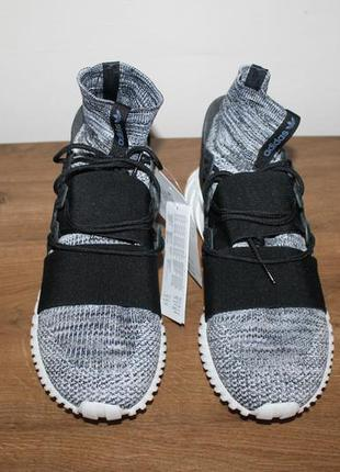 Кроссовки adidas tubular doom primeknit pk grey three, 46 размер