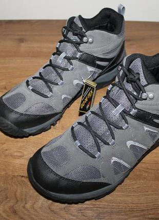 Зимние водонепроницаемые ботинки merrell outmost mid vent gtx ...