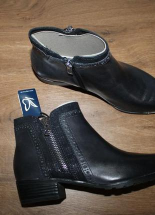Немецкие кожаные ботинки caprice, 37.5, 38.5, 39, 40, 41 размеры