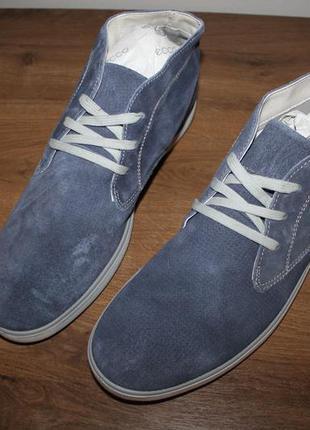 Замшевые ботинки imac made in italy