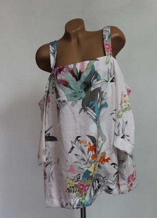 Блуза с ярким принтом next