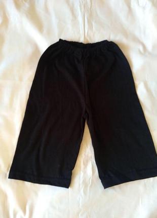 Черные шорты для мальчика 9 лет