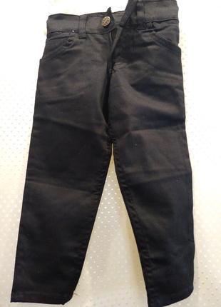 Черные джинсы для мальчика 1 год. турция