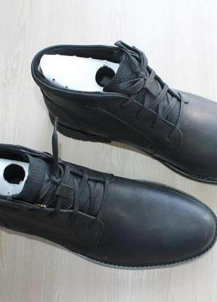 Кожаные ботинки caterpillar brock