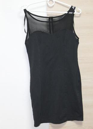 Красивое черное платье ax paris