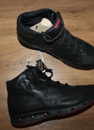 Кожаные ботинки ecco cool gore-tex surround