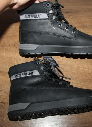 Кожаные ботинки caterpillar cat ryker