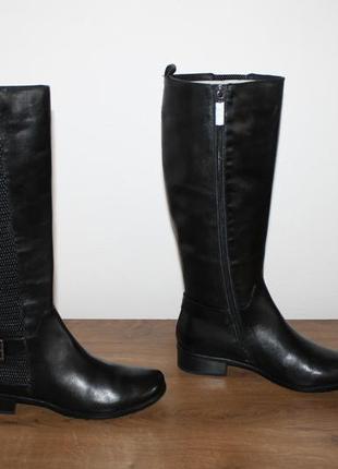 Кожаные сапоги gerry weber, 37, 42 размеры