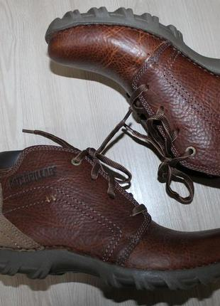 Кожаные ботинки caterpillar cat