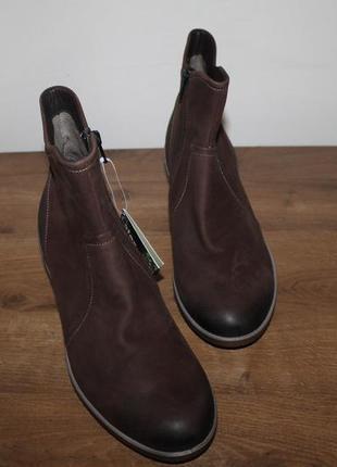 Кожаные ботинки ecco latex, 42 размер
