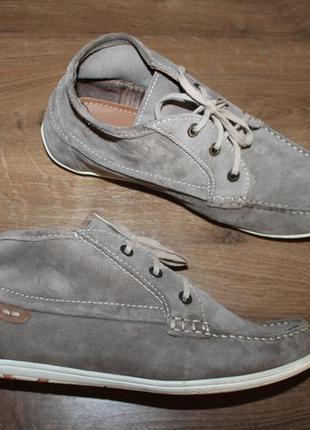 Замшевые ботинки roberto santi, 39 размер