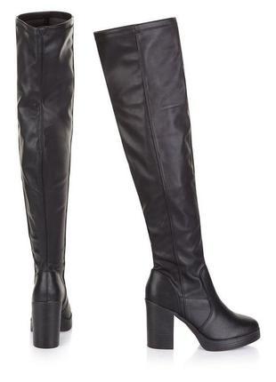 Ботфорты сапоги new look, 40 размер