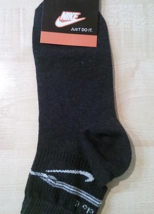 Носки мужские спортивные nike  средняя высота