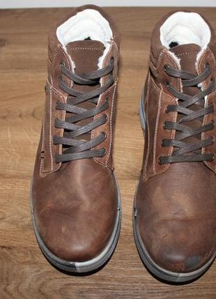 Итальянские мембранные ботинки imac italy
