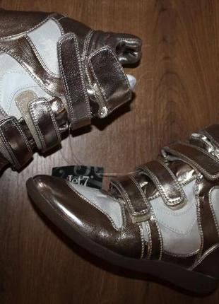 Сникерсы, ботинки скрытая танкетка jet 7, 40 размер 26 см