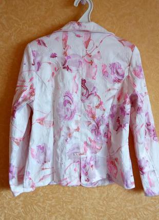 🎀яркий летний пиджак/жакет цветочный принт🤑самые низкие цены🙀п...