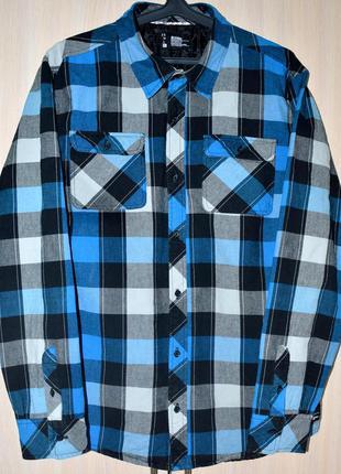 Рубашка утепленная ETNIES® original XL сток SU62-2