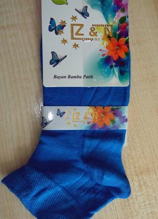 Носки женские z&n бамбук сеточка турция