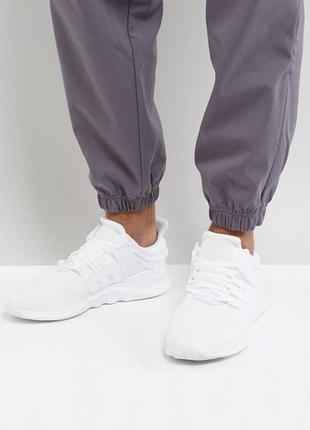 Стильные кроссовки adidas originals eqt support adv triple whi...