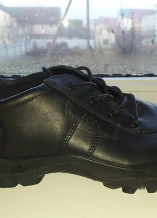 Треккинговые кожаные ботинки ecco