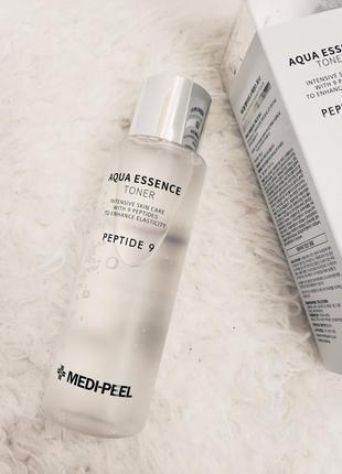 Тонер с пептидами и гиалуроновой кислотой medi-peel peptide 9 ...