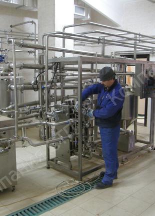 Продажа и изготовление, монтаж пищевого оборудования