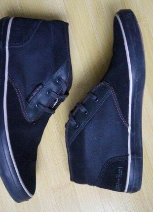 Ботинки g-star мужские темно-синие