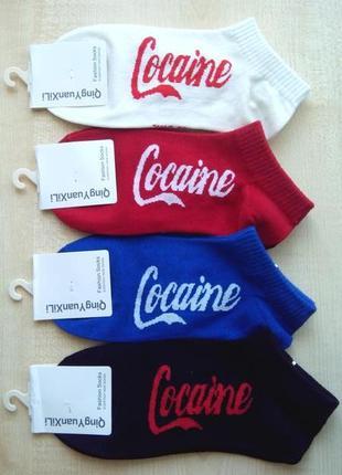 Носки женские короткие cocaine
