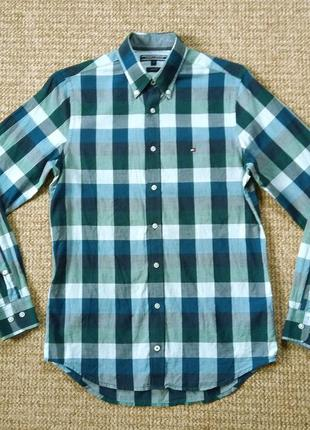 Tommy hilfiger slim fit рубашка оригинал (s)