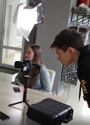 Видеосъемка, видеооператор, монтаж