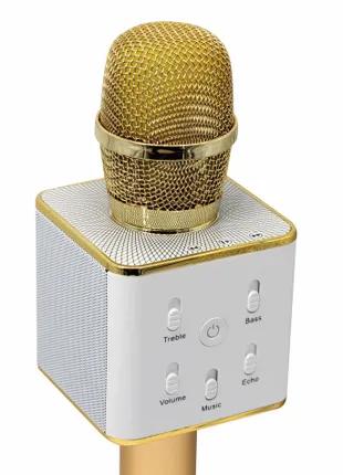 Беспроводной микрофон и динамик 2 в 1 Bluetooth