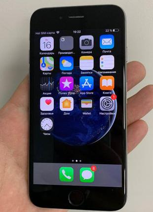 IPhone 6 16GB Space Gray в ОТЛИЧНОМ состоянии, оригинал, неверлок