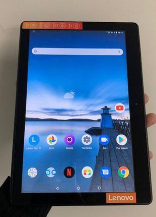 Планшет Lenovo Tab E10 TB-X104L LTE 3/32GB Slate (3G) ИДЕАЛ!!!