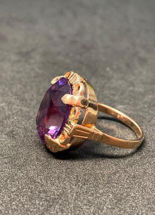 Кольцо из золота 585 пробы.