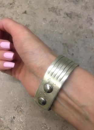 Кожаный браслет (натуральная кожа)