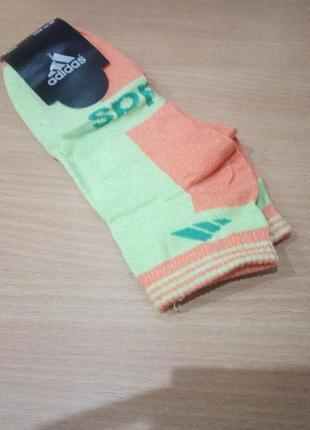 Носки женские спортивные короткие adidas
