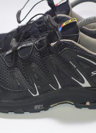 Треккинговые кроссовки salomon xa pro 3d ultra w black 108589