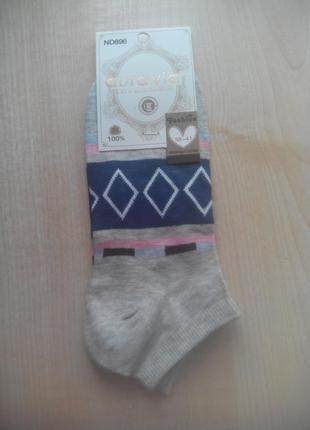 Носки короткие aura.via женские