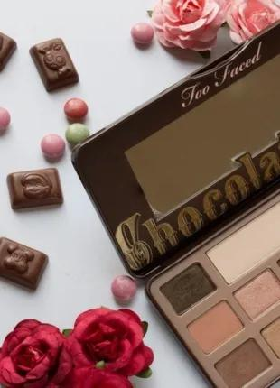 Палетка теней для век Too Faced Chocolate Bar 100% Cocoa 16 в 1