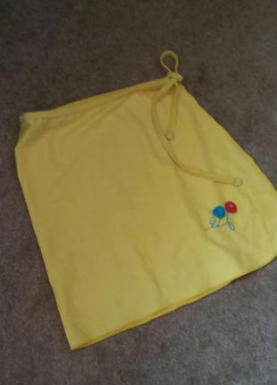 Пляжная юбка на завязках yovgoian