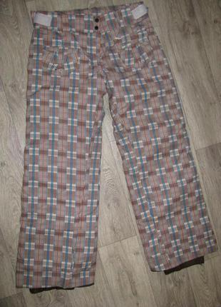 Женские лыжные штаны xl р.50 евро 42 германия wedze горнолыжные