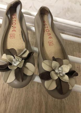 Кожаные туфли astore италия, новые!
