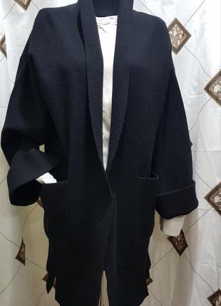 Элегантное женское пальто манто италия оверсайз